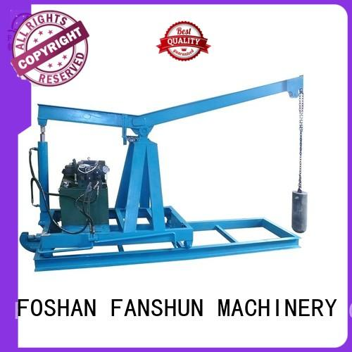 FANSHUN continuous upward continuous casting machine for aluminium melting in industrial park