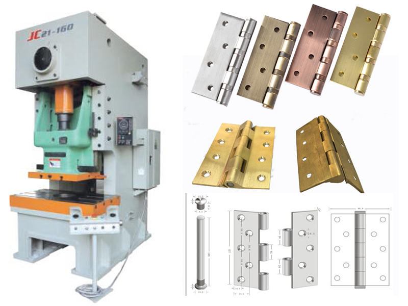 Brass hinge production line