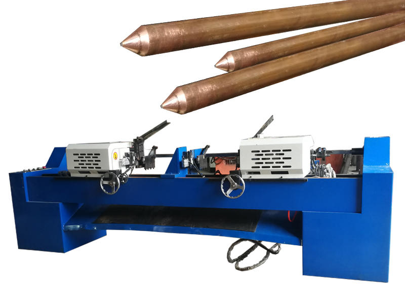 copper rods chamfering machine