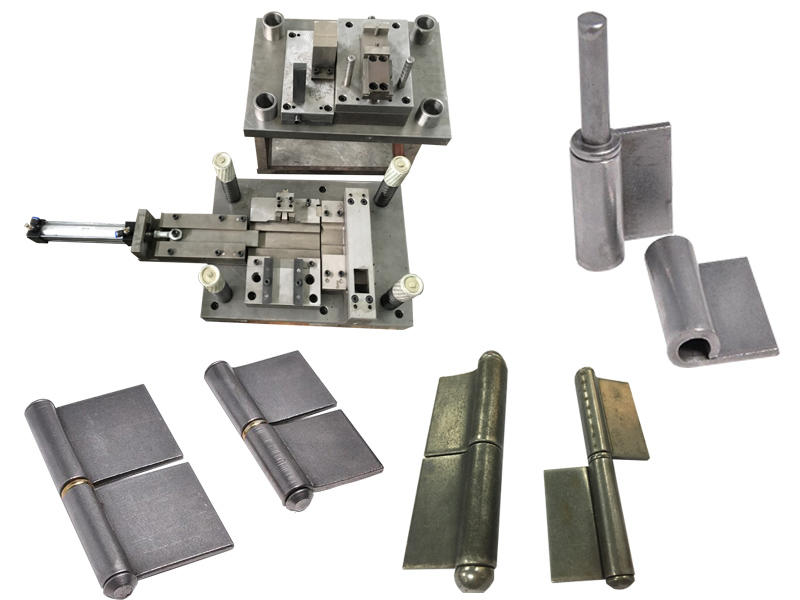 Flag welding hinge production line