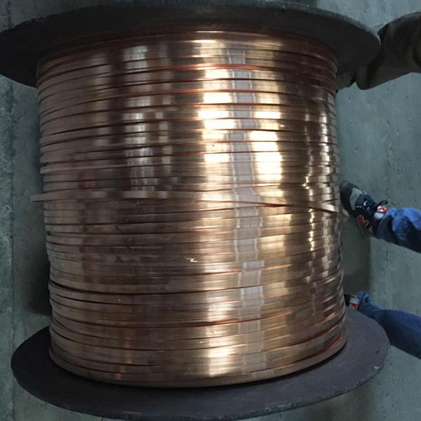 copper strip aplication
