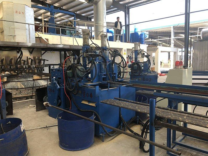 Brass rod production line