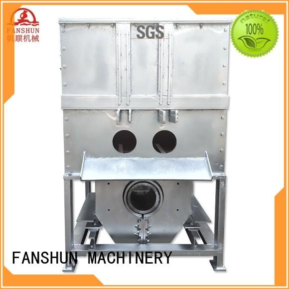 FANSHUN precision baghouse dust collector for straightening hexagon bar in industrial park