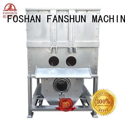 ingot temperature FANSHUN Brand aluminium melting furnace