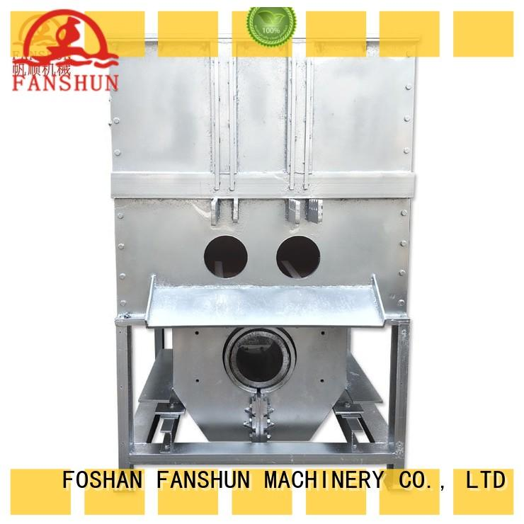 FANSHUN frequency brass valve machine in workhouse
