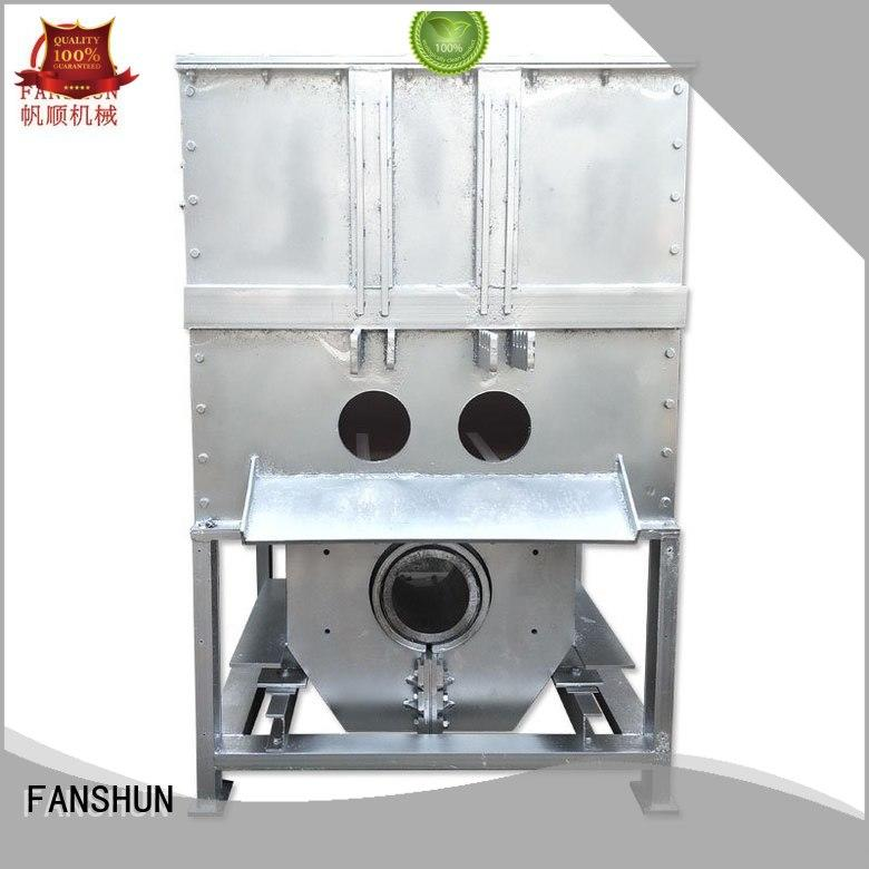 FANSHUN plant bronze billet equipment for brass production in industrial park
