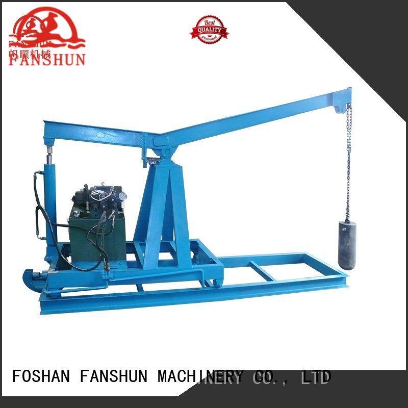 FANSHUN bar ball valve making machine in industrial park