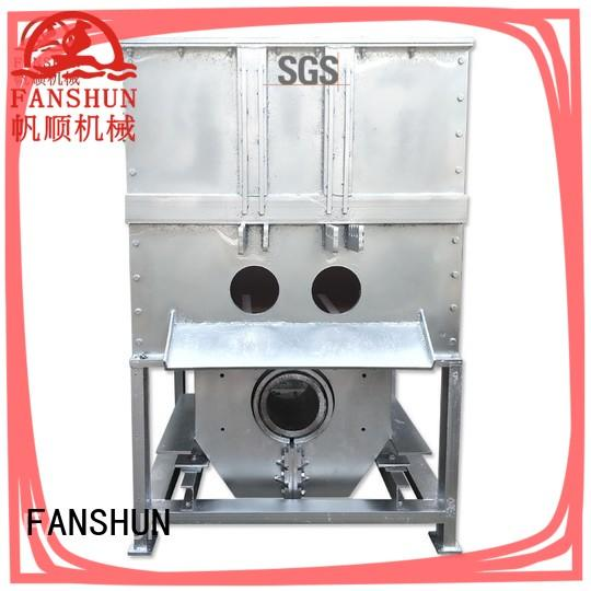 FANSHUN eco-friendly upcast machine for brass melting in industrial park