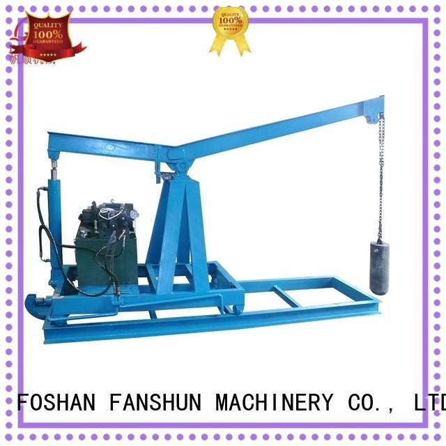 FANSHUN copper copper wire making machine for iron melting in factory