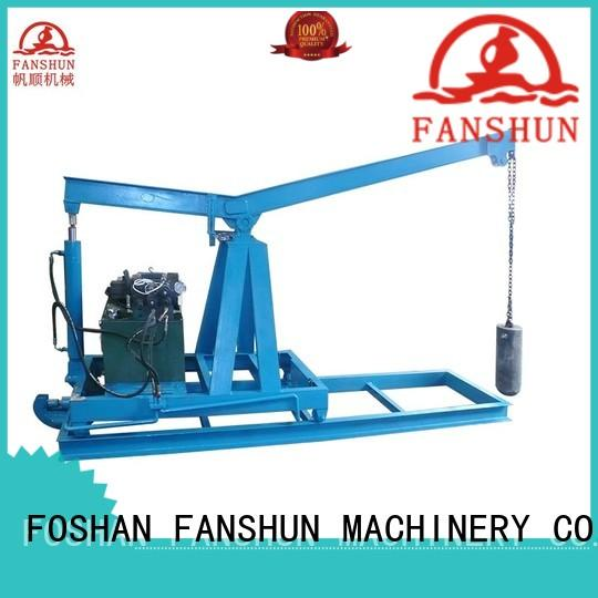 FANSHUN melting upwards continuous casting machines with good reputation in factory