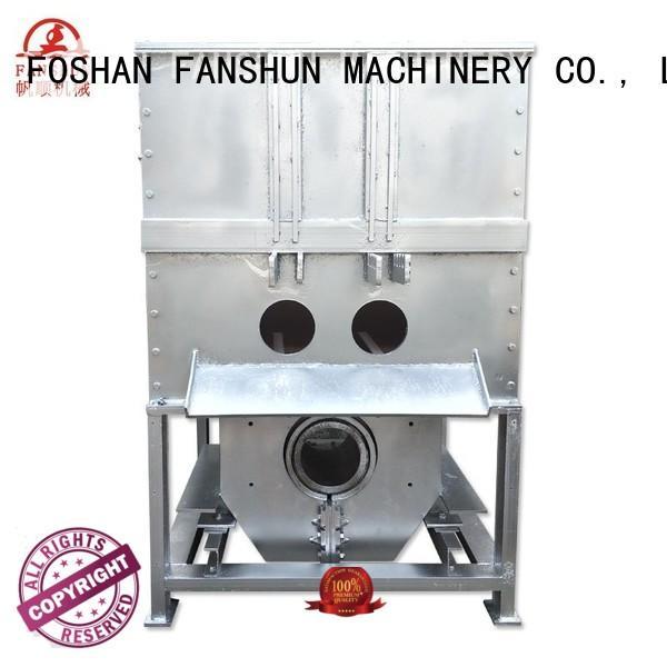 temperature furnace sale FANSHUN Brand aluminum ingot casting machines manufacture