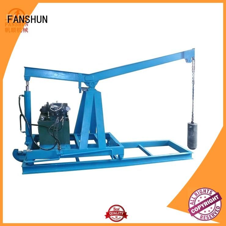 solid padlock drilling machine round for brass production in workhouse