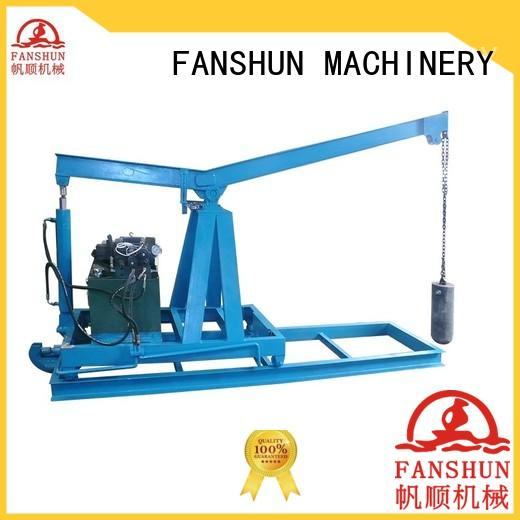 FANSHUN vibration copper tube production for zinc in industrial park