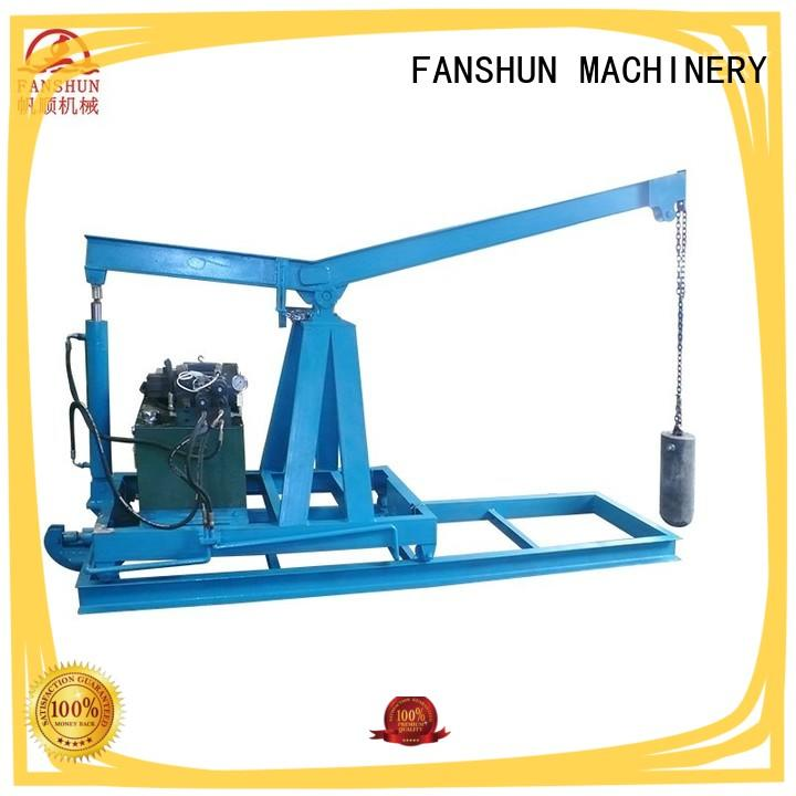 FANSHUN high-quality upward continuous casting machine for copper melting in workhouse