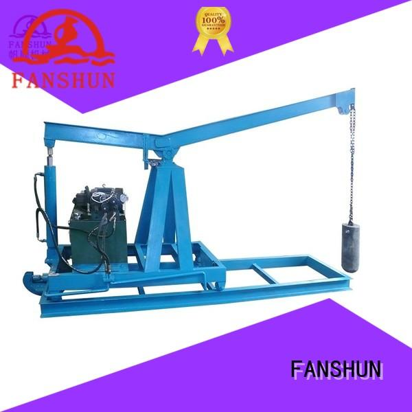 FANSHUN aluminium copper casting machine for bronze tube in workhouse