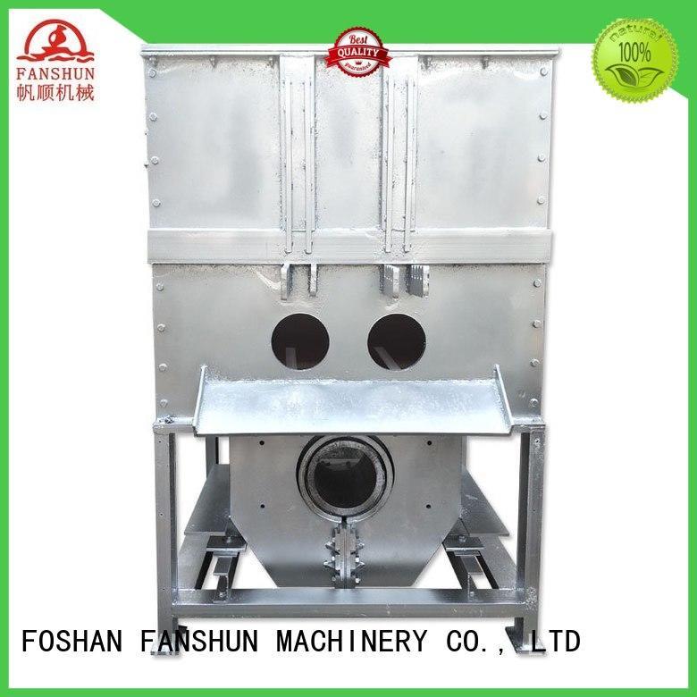 FANSHUN Brand electric machine sale aluminum ingot casting machines alloy