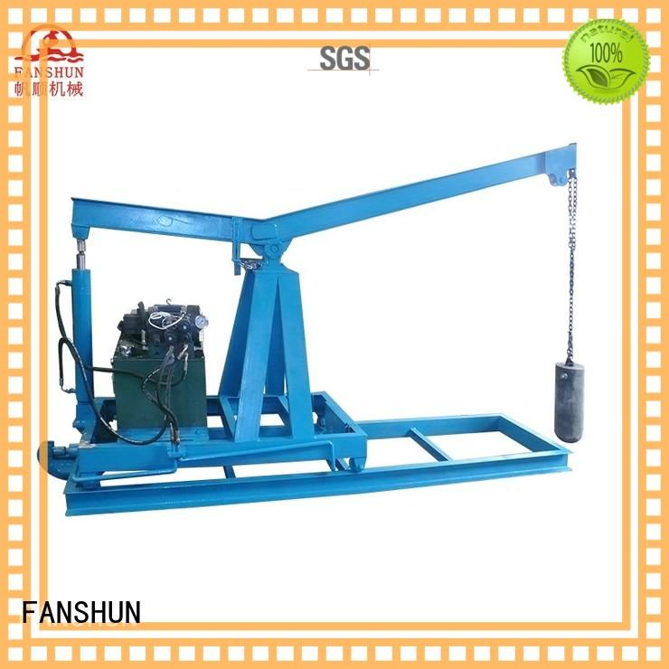 FANSHUN solid cnc lathe machine for profiles brass bar in factory