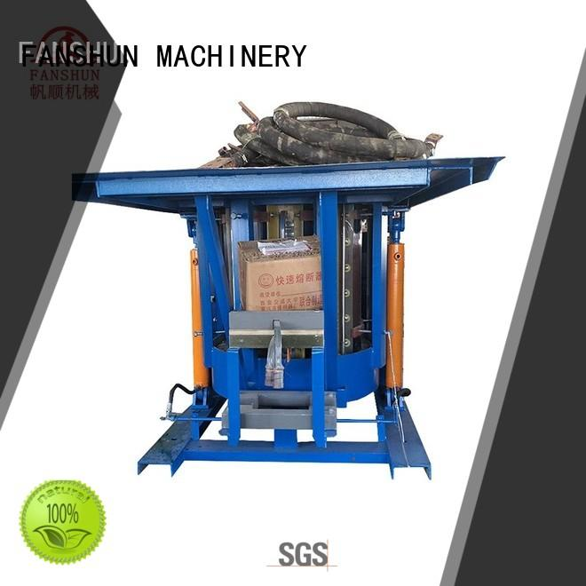 FANSHUN eco-friendly copper production line for bronze bar in factory