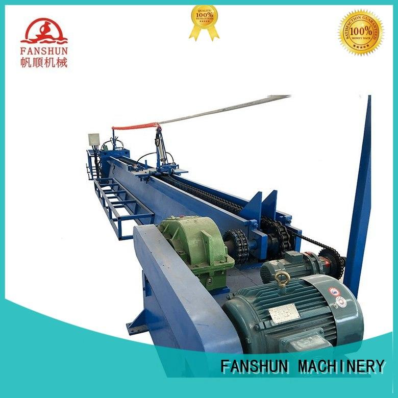 FANSHUN easy operating bronze production line for brass tube in factory