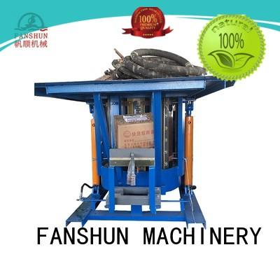FANSHUN environmental lead ingot casting machine for brass production in industrial park
