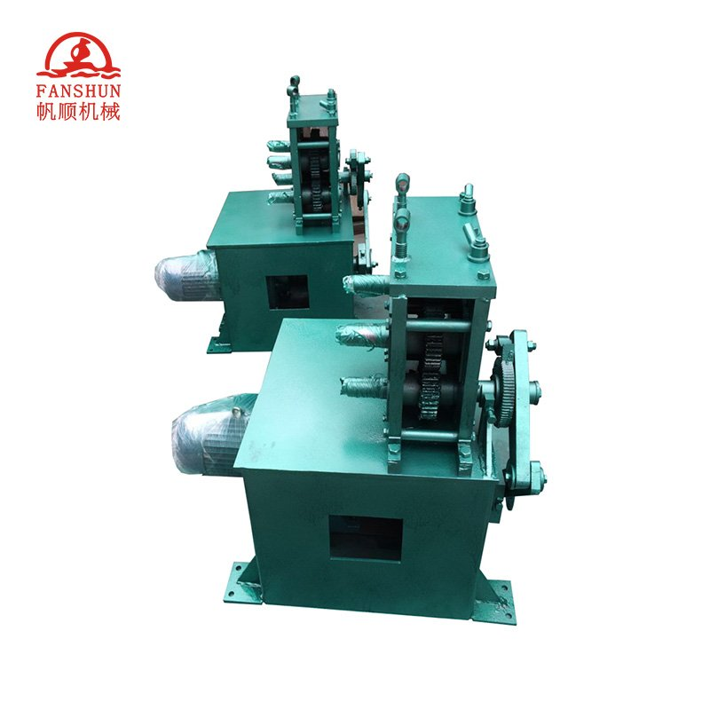 FANSHUN  Four wheel six teeth casting machine Brass rod/Brass tube production line image9