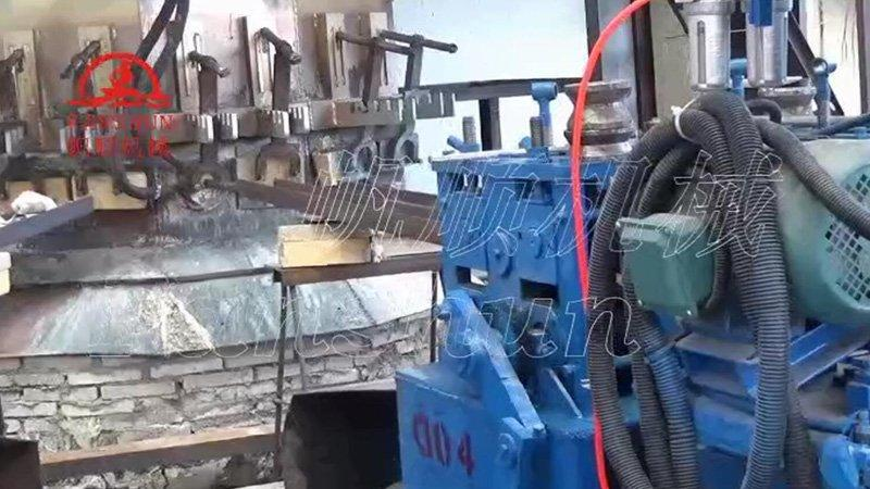 Brass bar making machine