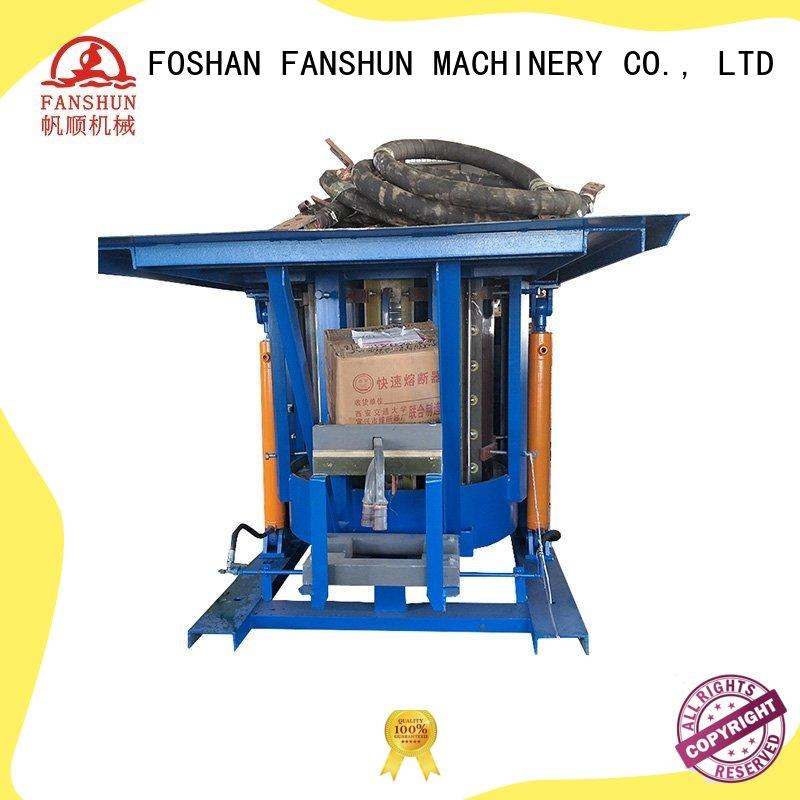 FANSHUN rodbronze copper tube making machine for copper in workhouse