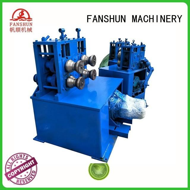 FANSHUN recycling aluminum ingot casting in industrial park