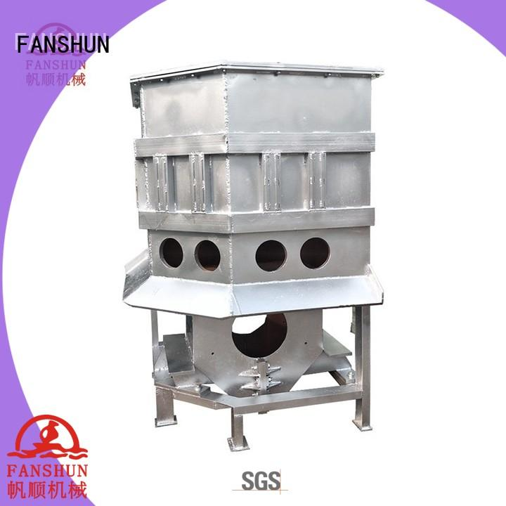 FANSHUN eco-friendly aluminium melting furnace for brass production in workhouse