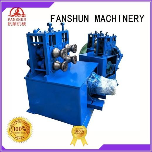 FANSHUN solid ball valve manufacturer from China in industrial park
