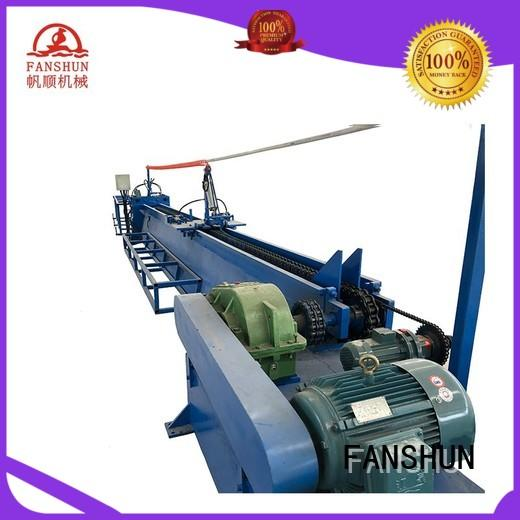 safety continuous casting machine dust for bronze tube in factory
