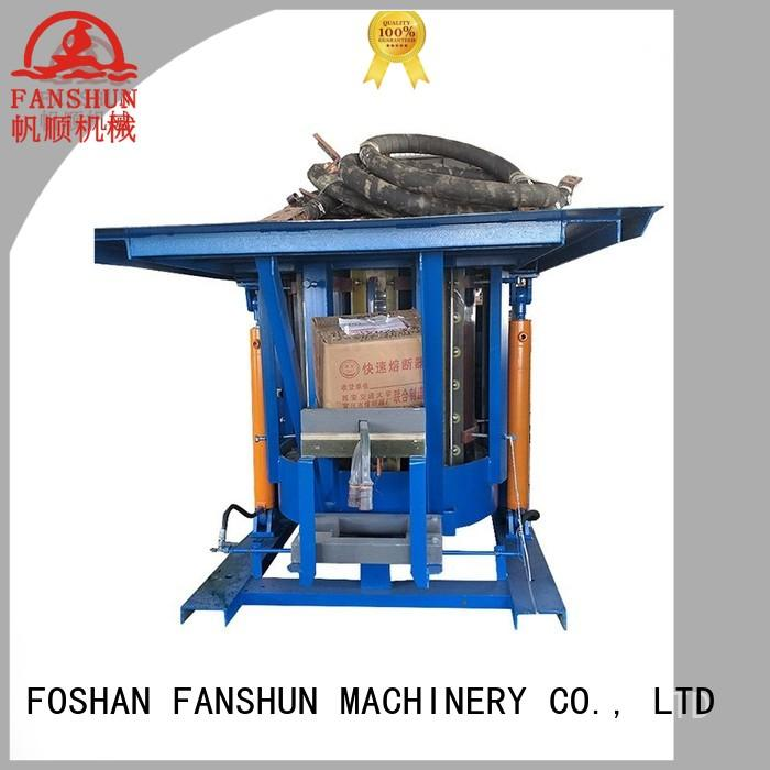 FANSHUN system copper casting machine for aluminum bar in factory