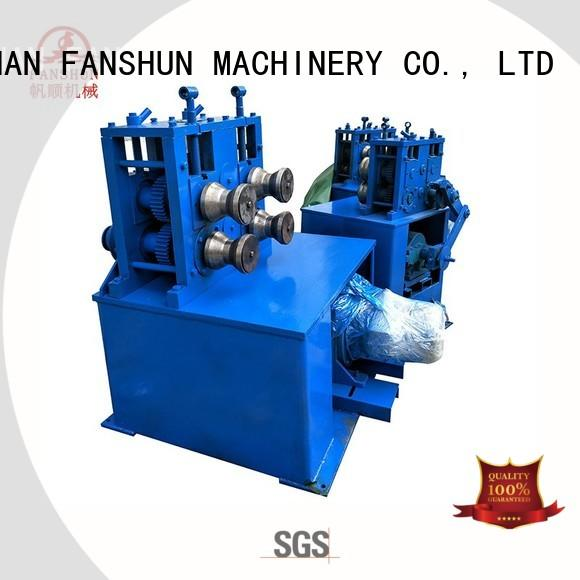 FANSHUN double melting furnace manufacturers for copper in industrial park
