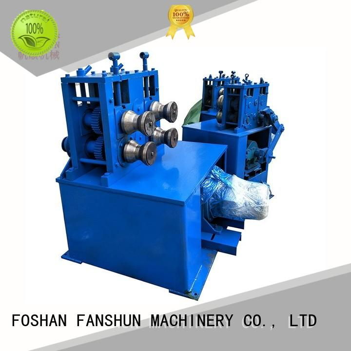FANSHUN environmental extrusion machine for bronze bar in industrial park