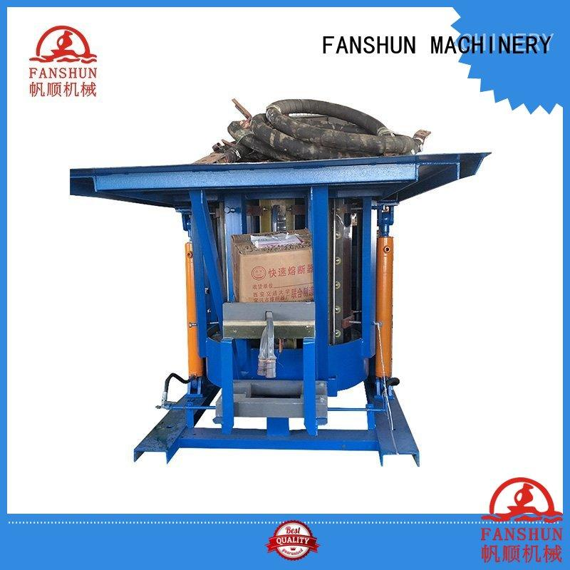 FANSHUN environmental peeling machine for bronze bar in factory