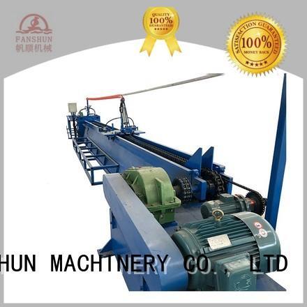 FANSHUN Brand production sale brass bar peeling machine without