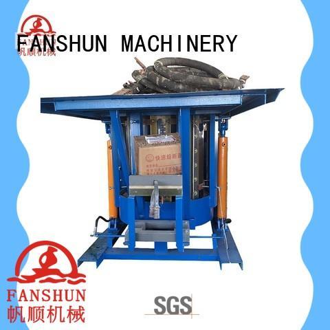FANSHUN feeder aluminum ingot casting molds for bronze tube production in factory