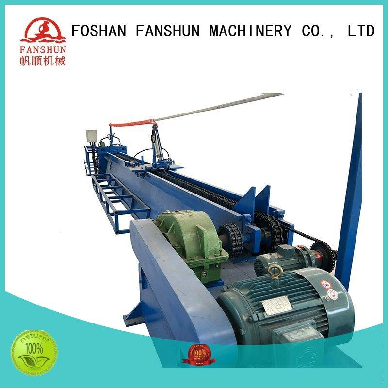 FANSHUN Brand bar peeling machine line factory