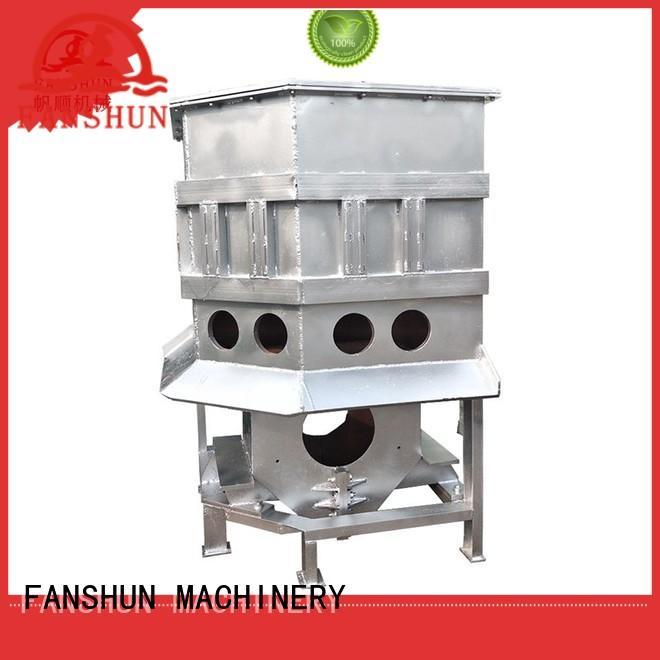 FANSHUN quality peeling machine for brass tube in factory