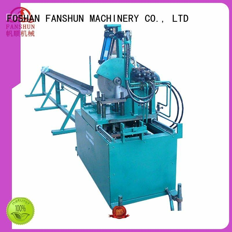 industrial hydraulic bar FANSHUN Brand cutting machine supplier