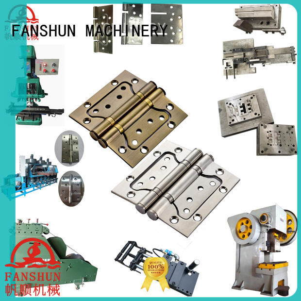 FANSHUN machinery flag hinge making machine for square bar in industrial park