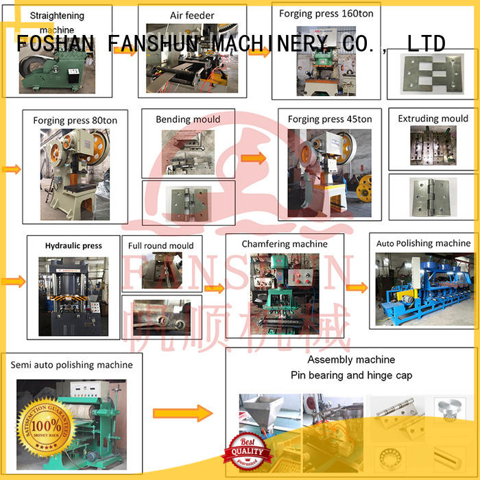 FANSHUN Brand production hinge protection door hinge machine