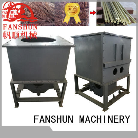 FANSHUN vibration aluminum ingot casting molds for brass production in workhouse