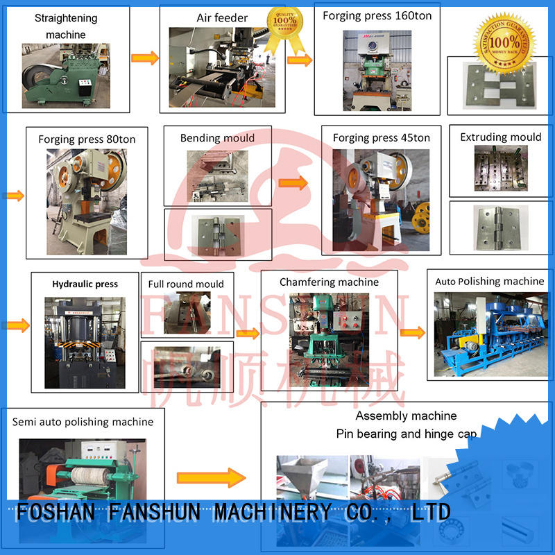 FANSHUN solid piano hinge manufacturers suppliers in industrial park