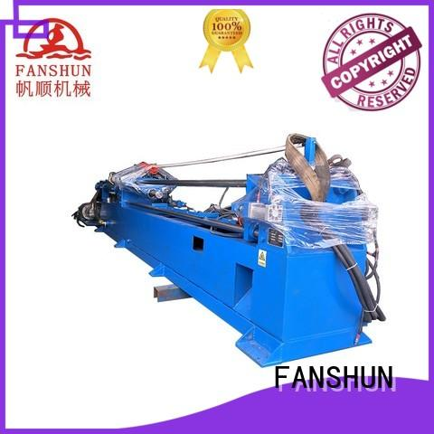 FANSHUN easy operating cnc lathe machine for square bar in factory