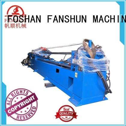 FANSHUN eco-friendly tube making machine for aluminium in workhouse