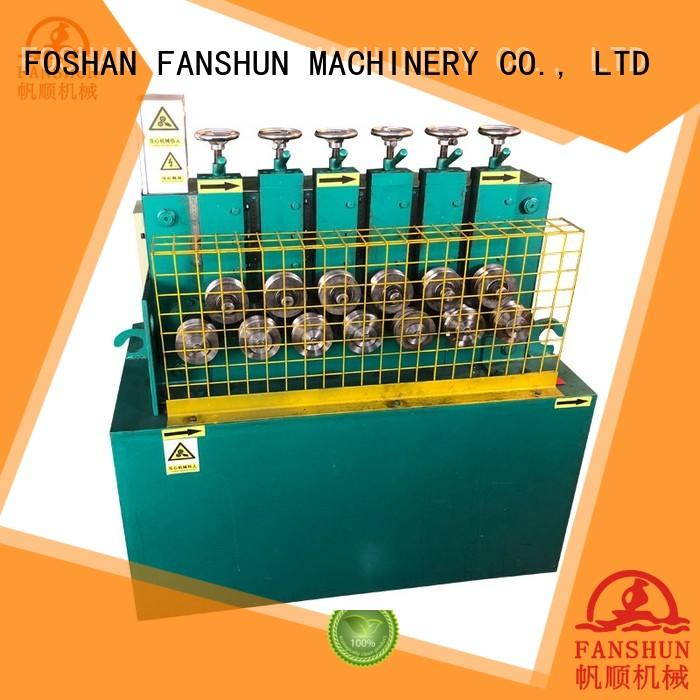 FANSHUN cost effective bronze production line for copper rod in industrial park