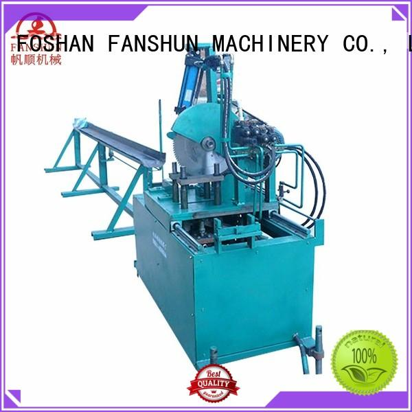 bar brass cutting machine hydraulic industrial FANSHUN company