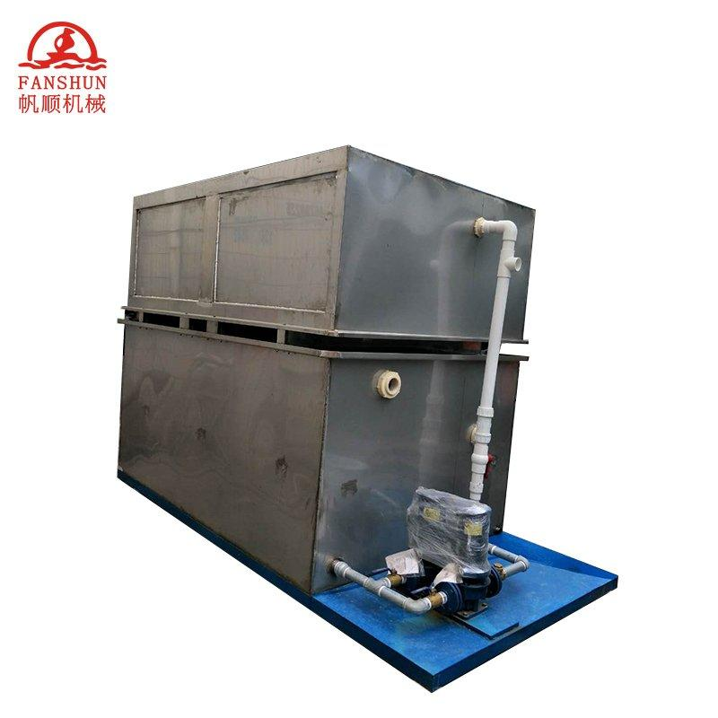 Water tanks cooling system for copper rod production line