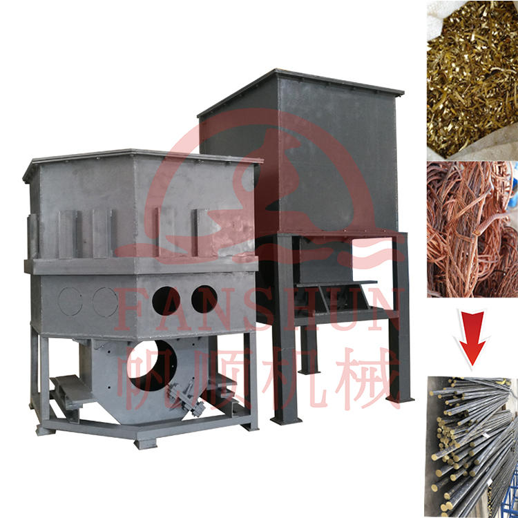 Aluminium/Copper/Bronze/Brass Scrap Induction Melting Holding Furnace and Smelting Furnace